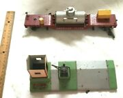 Gilbert American Flyer Crossing Gate 5112 And Service Car 648 Free Shipping Mt