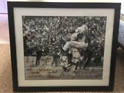 Ny Mets Autograph - 1969 Mets Team 28 Signed Framed Bandw - Beauty Seaver Ryan