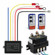 Remote Control Winch Fit For Kfi Warn Atv Winch Solenoid Contactor Relay Switch