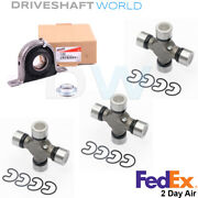 Center Bearing 211359x And 1410 Series U-joints Kit For Ford F250 F350 Rear Shaft
