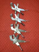 4 Four Vintage Whizzer Motorbike H Controls Old School Lever Style