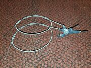 One 1 Vintage Whizzer Motorbike H Control And 2 Cables Old School Lever Style