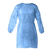 Ppe Cover Isolation Gowns Elastic And Knit Cuff Disposable Medical Dental Tattoo