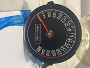 1967-1968 Factory Shelby Mustang Tachometer Tach 8k Rpm 8,000 W/ Red Line
