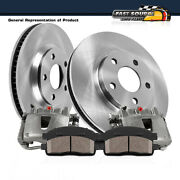 Front Brake Calipers And Rotors And Pads For Bmw E36 318i 318is 323i 325i 328i Z3