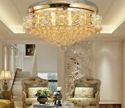 Crystal Chandelier Ceiling Fan With Light Nickel Bronze 8 Hours Maximun Function
