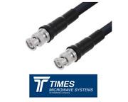 Lmr-240 Times Microwave Coaxial Cable Assembly Bnc Male Connectors Low Loss Lmr