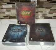 World Of Warcraft Collectors Edition Lot - Lot Of 3 New Boxes Classic Wow