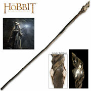 73 Officially Licensed Hobbit Lord Of The Rings Gandalf Wizard Staff W/ Mount
