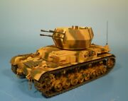 Lineol/elastolin - Metal - Flakpanzer Iv Whirlwind - For 2 13/16in Figures