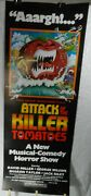 1 Vintage Unused Insert Movie Poster For Attack Of The Killer Tomatoes, 1978