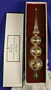 Waterford Holiday Heirlooms The Jim O'leary Collection Tree Top Crystal