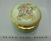 Halcyon Days The Music Lesson 18thc Inspired Enamel Box - 1 3/44.25cms