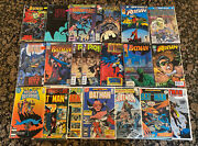 Batman And Robin Lot Of 23 Vintage Dc Comics/books - Fn To Nm/m