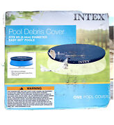 Intex 8 Foot Above Ground Swimming Pool Debris Vinyl, Round Cover Only