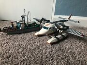 Lego City Coast Guard Plane 60015 - Used, Complete, With Instructions. Retired
