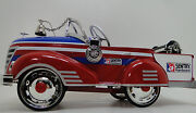 Ford Fire Engine Truck Pedal Car Too Small To Ride On Gt40f150 Metal Bod