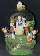 Disney Store Snow White Musical Someday My Will Come Snow Globe 21cm