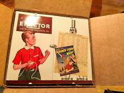 Erector Master Builder [1961] 10094 12 1/2 [99.9 Complete] Mint In Original Box