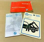 Euro Imported 528i E28 Owners Manual Roadside Assistance Book Vintage Bmw