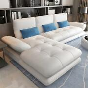 Modern Faux Leather Sofa Combination