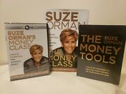 Suze Orman New Lot Dvds Book Pbs Money Class Tools Free Ship Sealed Financial