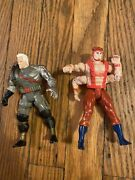 Marvel Xmen Lot Of 2 Forearm And Cable Action Figures 1992,1993
