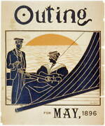 Advertisement For Magazine,outing For May,1896,guitar,sailboat,man,woman