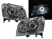 Colorado Rc 08-12 Facelift Guide Led Halo Feux Avant Phare Ch For Chevrolet Lhd