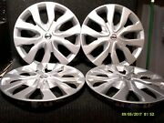 Set Of 4 Factory Nissan Rogue Hubcaps Wheel Covers 14 15 16 17 18 19 17 53094