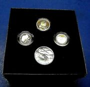 2005 Us Mint Westward Journey Nickel Series Coin And Metal Set W/box Coins Coa