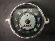 Vw Aircooled Beetle Speedo Without Fuel Gauge 62-67 Manuf. Date 4-65 3
