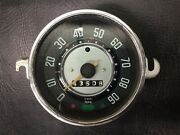 Vw Aircooled Beetle Speedo Without Fuel Gauge 62-67 Manuf. Date 7-65 1
