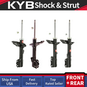 Kyb 4pcs Struts Shocks For Lexus 08-09 Rx350 Fwd And 07-08 Rx400h Fwd