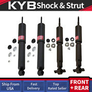 Kyb 4pcs Gas Shocks For Ford F150 2wd Rwd 97 98 99 00 01 02 03 To 2003