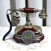 With Pause And Function Noise-free Stable Exquisite Landline Telephone Antique