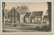 Portland Mainetanglewood Grounds Little Red Houselean-to Shedc1950 Postcard