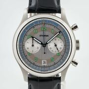 Eterna Heritage Pulsometer 1942 Ref 1942.41 Menandrsquos Stainless Steel Limited Ed