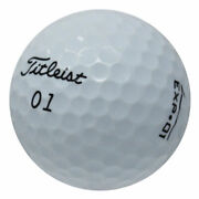 120 Titleist Exp 01 Good Quality Used Golf Balls Free Shipping Great Value