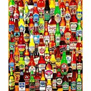 White Mountain Puzzles 99 Bottles Of Beer On The Wall - 1000 Piece Jigsaw Puzandhellip
