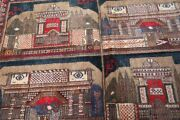 Collectorsand039 Piece Stunning Historiccal Place F Afghanistan Wall Hanging Carpet