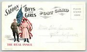 Salem Oregonprohibition Issuesaloon Boys And Girlsyoung People Temperance1908
