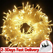 1000leds Christmas Tree Fairy Lights Indoor Outdoor String Lights Decorations Uk