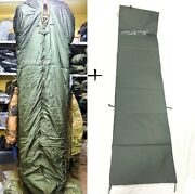 Kazakhstan Army Special Forces Specnaz Dual Layer Winter Sleeping Bag And Pad Mat