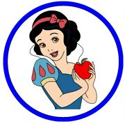 Snow White Image Edible Cake Topper Frosting Sheet