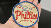 Rare 3 Circa 1944 Phillies Blue Jay Embroided Patch