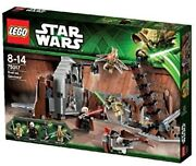 Lego Star Wars Duel On Geonosis With Jedi Minifigures And Lightsabers | 750