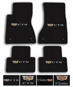 Lloyd Mats For 20-up Cadillac Ct5   Luxe Carpet Floor Mats - Choose Logo And Color