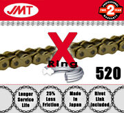 Jmt Gold And Gold X Drive Chain 520 P 98 L - Ducati Monster 900 City - 1999