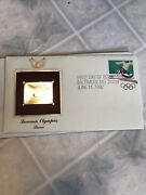 Vintage First Day Of Issue 1992 Summer Olympics Soccer Stamp Postage